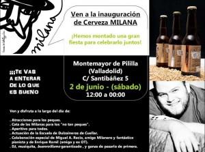Inauguración cerveceria milana
