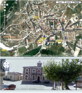 Vista virtual del municipio